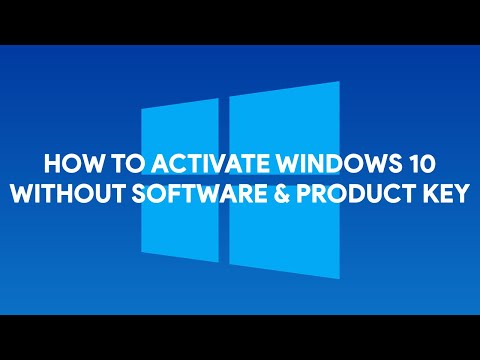 How To Activate Windows 10 Without Software & Product Key - [romshillzz]