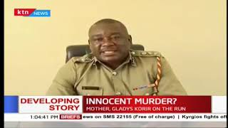 Police in Subukia Sub County are holding a man over the death of a two- months old child