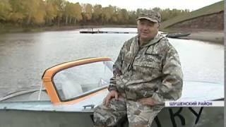 Бобер помогает разводить рыбу в питомнике Шушенского района