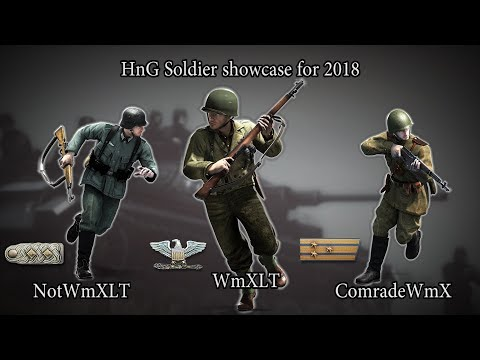 HnG Soldier showcase for 2018