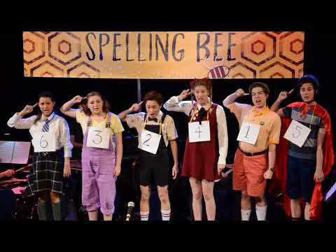 """Izzy playing flute, clarinet and saxophone with the Berklee College of Music theater group in """"The 25th Annual Putnam County Spelling Bee."""""""