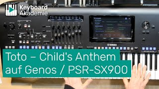 Toto – Child's Anthem auf Yamaha Genos/SX900 (Teil 1) | Power-Tipp