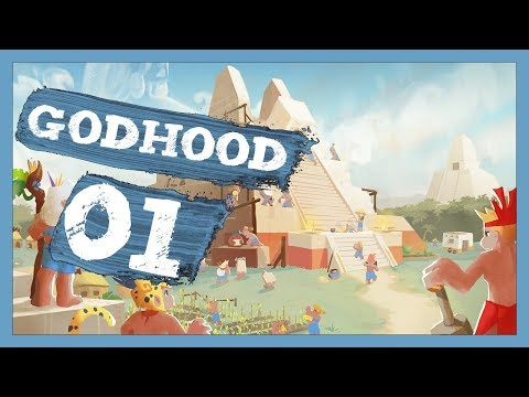 """God Game Goodness"" Godhood Gameplay PC Let's Play Part 1"