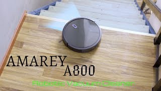 Amarey A800 Robot Vacuum Cleaner [ Review & Unboxing ]