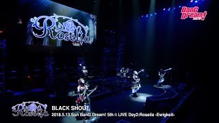 "【Live Footage】BanG Dream! 5th☆LIVE: Roselia - ""BLACK SHOUT"""