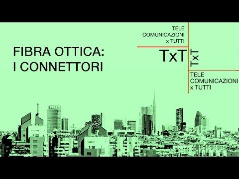 Tutorial Fibra ottica: i connettori