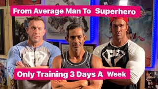How the Average Man Training 3 Days a Week Got in Better Shape than Everyone Els
