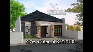 Rumah Minimalis Lantai 1 Modern House 9 3x12 3 K Tidur Drafter