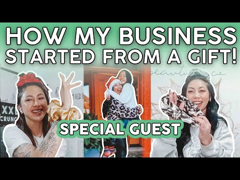 , title : 'HOW MY SMALL BUSINESS STARTED FROM A GIFT  XXL SCRUNCHIE Journey   Beauty Boss Special Guest Q&A ❤️
