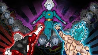 Jiren & Goku vs Grand Priest & the Angels THEORY
