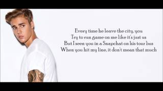 Justin Bieber   Hotline Bling Remix (Lyrics)
