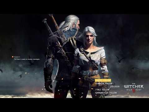 The Witcher 3 (Cesta slavného zaklínače) livestream part 1