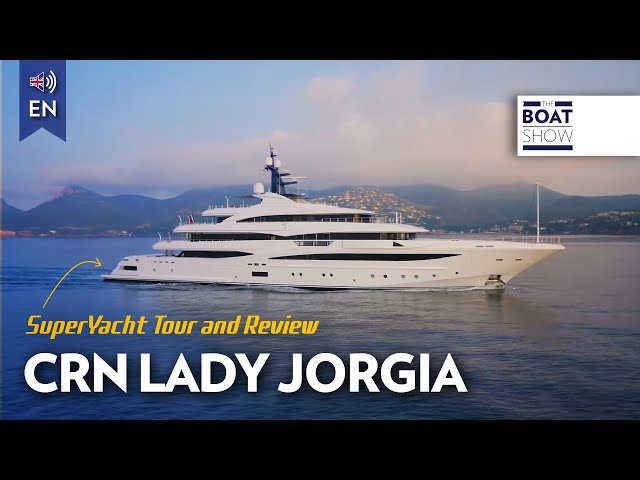 [ENG] M/Y CRN - CLOUD 9 - Yacht Review - The Boat Show