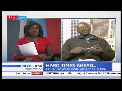 Hard times ahead after President Uhuru signs finance bill into law