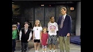 Kids Tell Jokes on Late Night, June 9, 1992