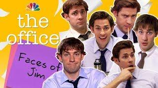 Jim Halperts Many Faces - The Office (Mashup)