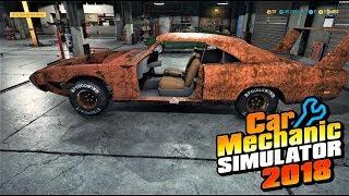 Restoring Joe Dirt's Superbird!   Car Mechanic Simulator 2018   Flipping Cars for Cash!