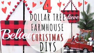 4 EASY DIY FARMHOUSE CHRISTMAS SIGNS🎄DOLLAR TREE DIY CHRISTMAS DECOR 2019🎄PLUS A NATURE WALK!🐿