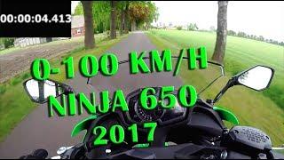 0 100 Acceleration   Ninja 650 (2017)