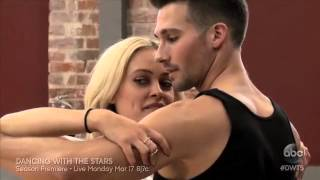 "James Maslow meets his ""Dancing with the Stars"" partner Peta"