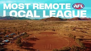 Australia's most remote local league? From the red dirt to the 'G | 2019 | AFL