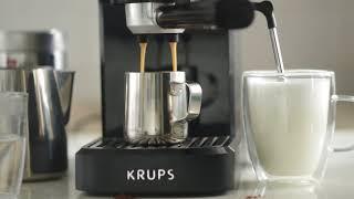 Krups XP 3440 Home Espresso Machine - Latte Macchiato & Americano
