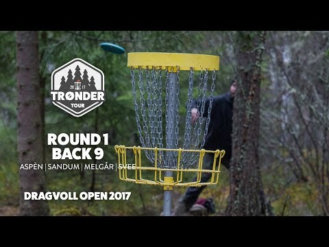 Trønder Tour 2017 | Dragvoll Open, Round 1 Back 9