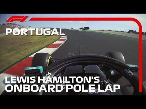 ポールポジションを獲得したルイス・ハミルトンの貴重なPPラップのオンボード映像。F1 第12戦ポルトガルGP(ポルトガル)