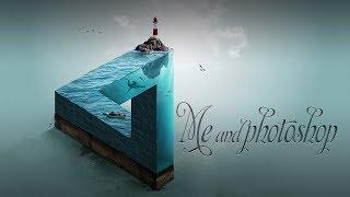 Me and photoshop - Моё творчество в фотошопе. Превью для видео. Работа с плагинами и шрифтами.