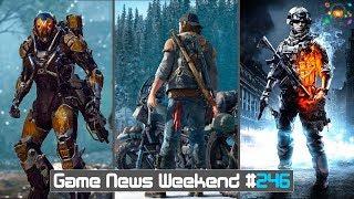 Игровые Новости — Days Gone, Anthem, Battlefield 5, Rage 2, Red Dead Redemption 2, Cyberpunk 2077