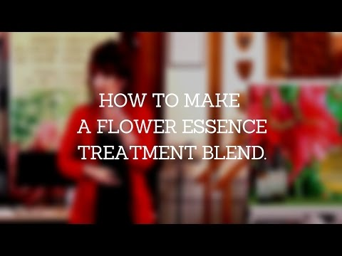 How to Make a Flower Essence Blend. How to Take Flower ...