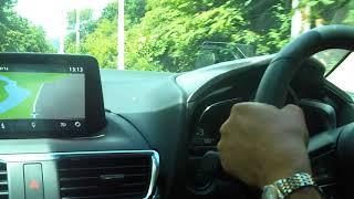 สอนขับรถ ฝึกขับรถเข้าโค้ง