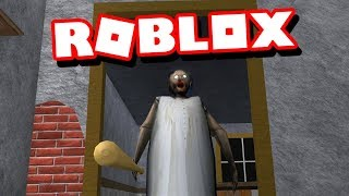PLAYING ROBLOX GRANNY FOR THE FIRST TIME