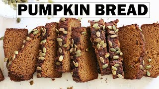 Gluten Free Pumpkin Bread || One Bowl + Easy Recipe