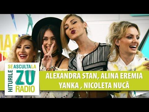 Alexandra Stan | Alina Eremia | Yanka | Nicoleta Nuca - Live la Marea Unire ZU (видео)