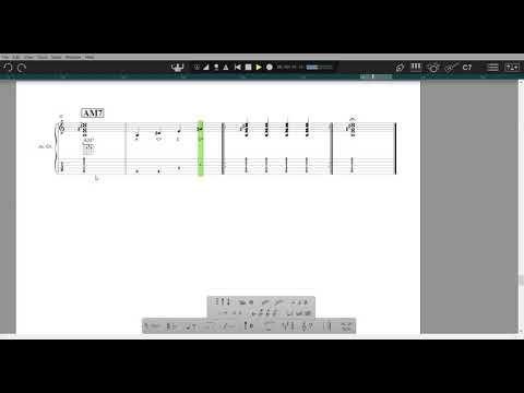 7th Chords  - AM7
