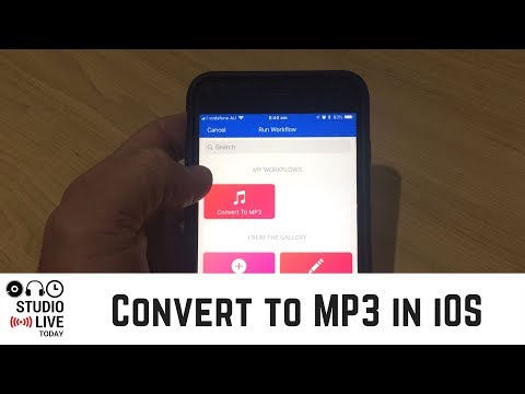 Convert Audio/Video to MP3 on iPhone or iPad
