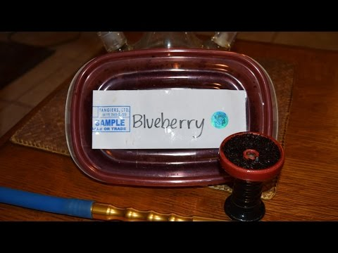 Shisha Tobacco Review: Tangiers Noir - Blueberry