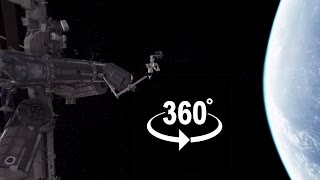 360 video: Space Experience (VR).