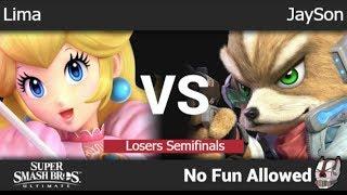 NFA 3 - Lima (Peach) vs Valor | JaySon (Fox) Losers Semifinals - SSBU