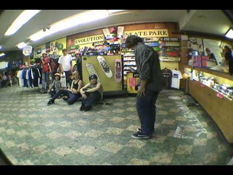 Evolution Skatepark Back2School All Night Session.