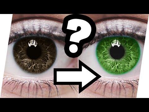 AUGENFARBE mit LEBENSMITTELN ändern? 🍎👀 ohne Operation oder Kontaktlinsen