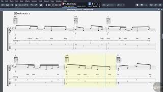 XIN LỖI (Nguyên Hà) - Guitar Solo Tab