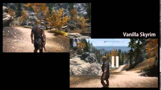 Skyrim - Uphill Downhill Project mod