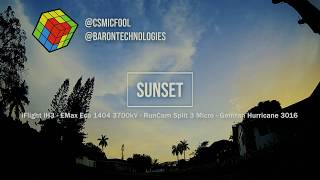 Perfect Sunset Session with FPV Drone