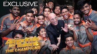 Howie Mandel Explains His Golden Buzzer For V.Unbeatable! - America's Got Talent: The Champions