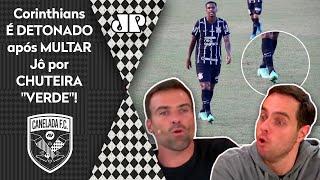 'O Corinthians usou e expôs o Jô!'; Timão é detonado após multa por chuteira verde