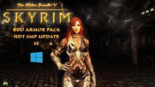 skyrim special edition BDO armor pack 2 Mod showcase HD