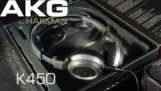 AKG K450 Headphones Review   Обзор наушников 2017 edition!