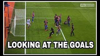 Analysing the goals   Crystal Palace 1-1 Newcastle United